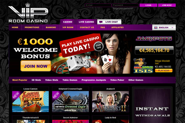 VIP Room Casino With Bitcoin