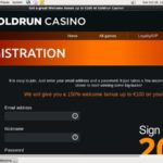 Gold Run Casino Bet