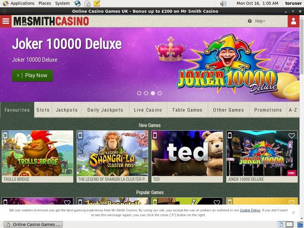 Mr Smith Casino Best Free Bonus