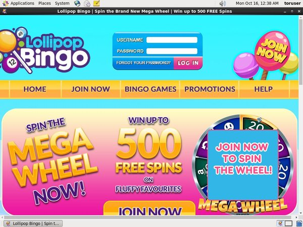 Signup Bonus Lollipopbingo
