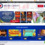 All British Casino 赌场奖金