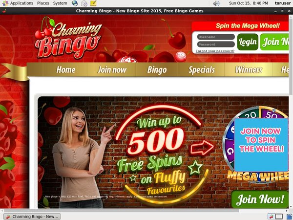 How To Create Charmingbingo Account