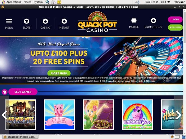Quackpotcasino Make Bet