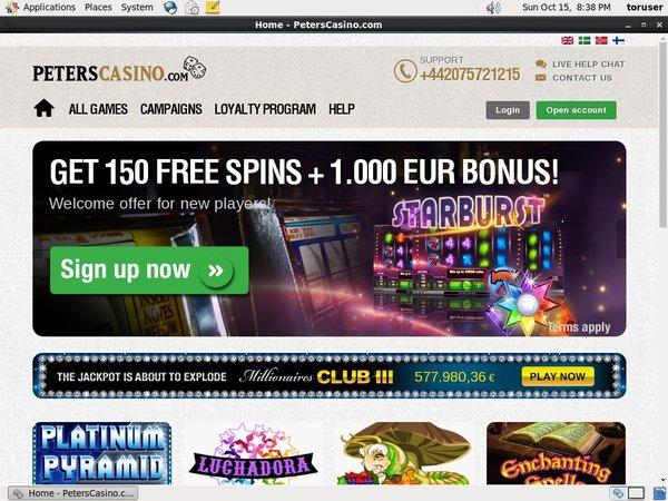 Peters Casino Netent