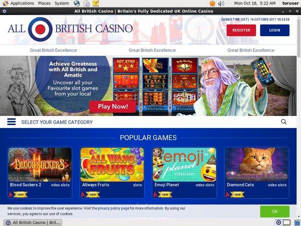 All British Casino Bingo