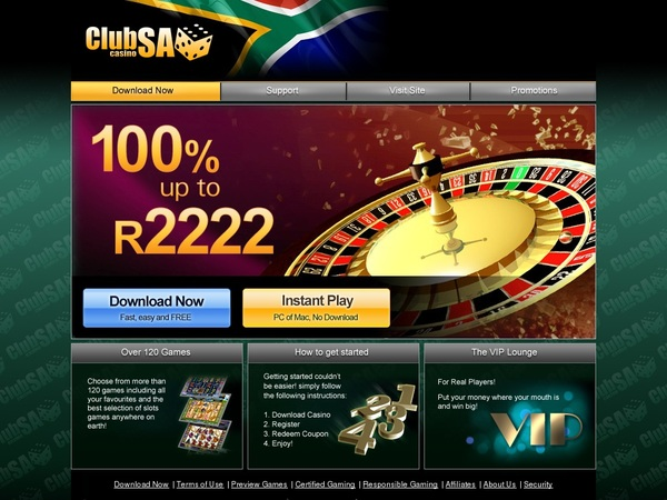 Clubsacasino Start Account