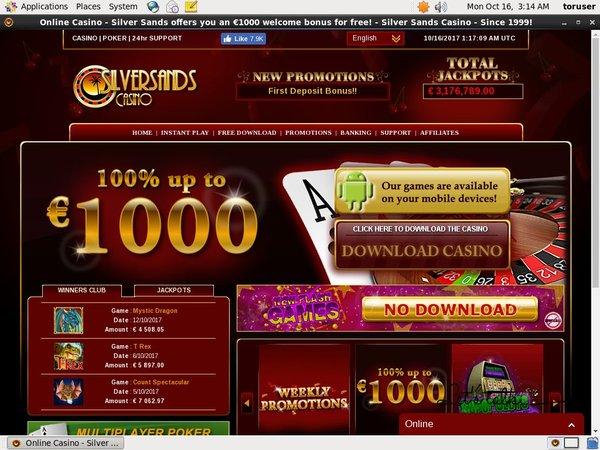 Mobile Silver Sands Casino