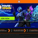 Power Spins With Gift Card