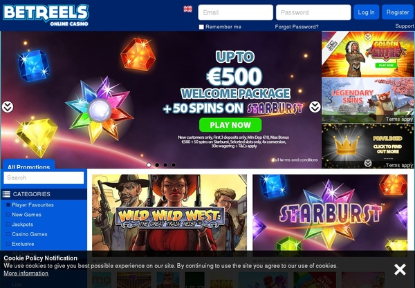 Bet Reels Mobile Free Spins
