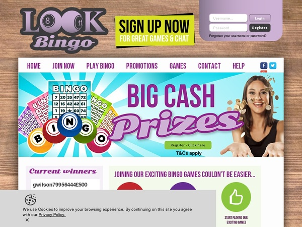 Look Bingo No Deposit