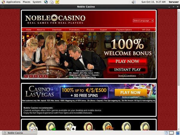 Noble Casino Bet Limits