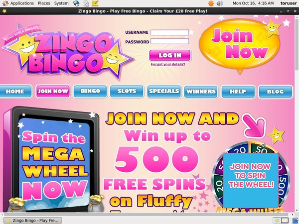 Zingo Bingo Direct Deposit