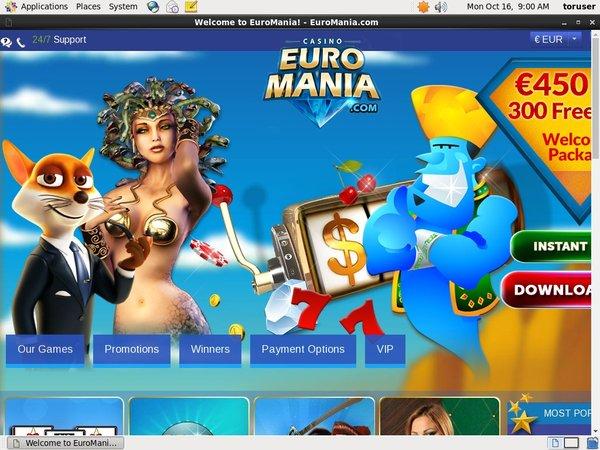 Euro Mania New Customers