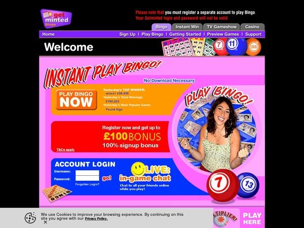 Best Online Casino Getmintedbingo