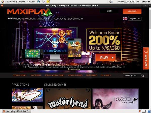 Maxiplay Casino Test
