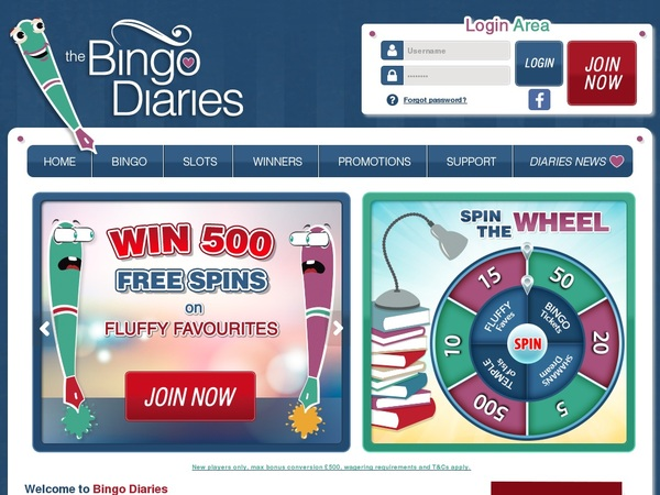 Bingodiaries Real Money