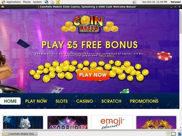 Offer Coin Falls Casino