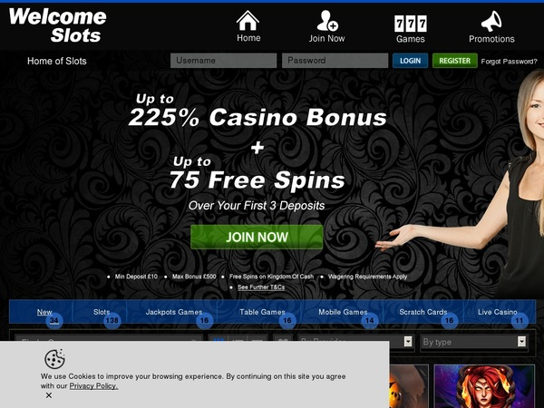 Welcomeslots Video Poker