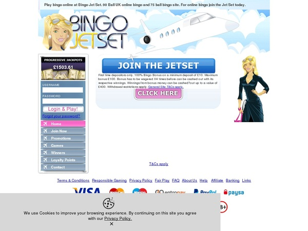 Bingojetset How To Sign Up