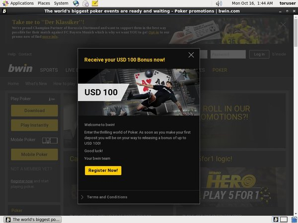Bwin Offers Today