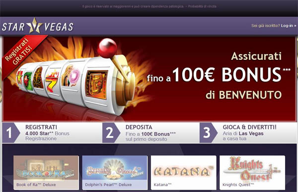 Star Vegas Offer