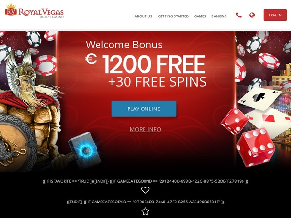 Royal Vegas Casino Offers Uk