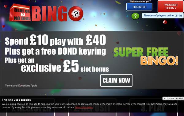 Deal Or No Deal Bingo Highest Limits