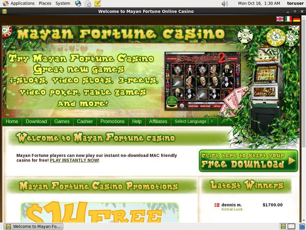Free Online Poker Mayan Fortune