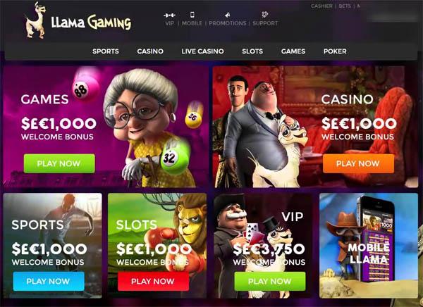 Llama Casino Instant Play
