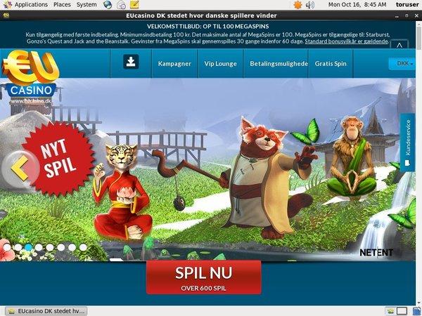 EU Casino .dk Free Spins