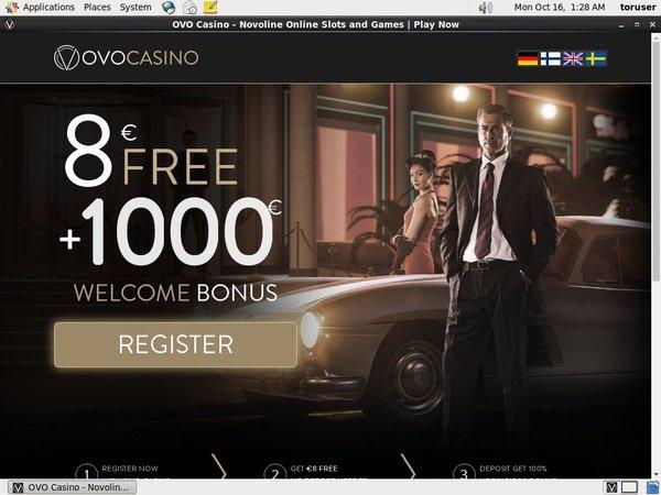 Ovo Casino Best Free Bonus